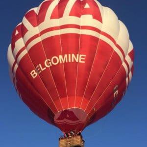 Luchtballon met Cair