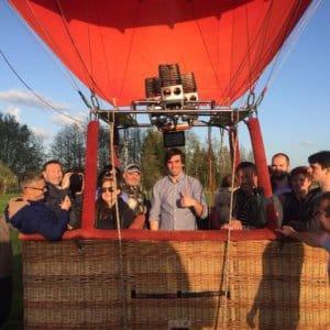 ballonvlucht met Avia