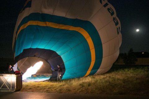 nachtvaart ballonvaart