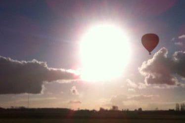 ballonvaart cadeaubon limburg