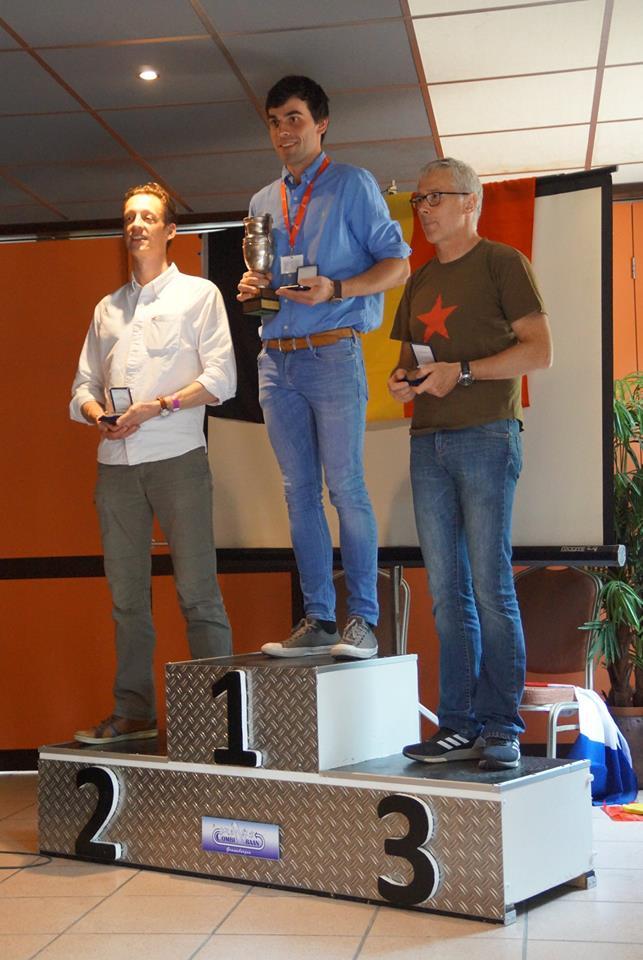 Ballonvaarder Podium belgisch kampioenschap ballonvaren