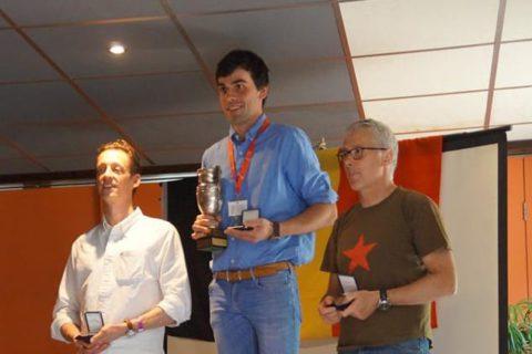 Podium belgisch kampioenschap ballonvaren
