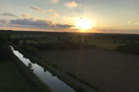 vol en montgolfiere Hainaut