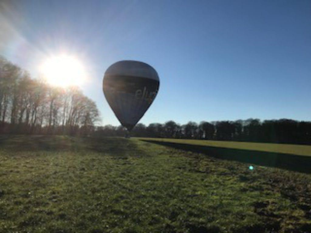 Ballonvaart land in Luxemburg