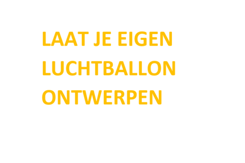 Reclame op je eigen luchtballon