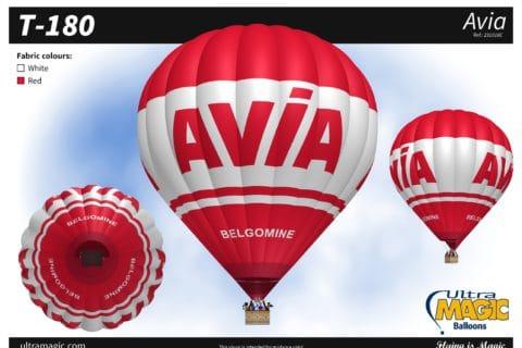 Bedrijsnaam op uw luchtballon
