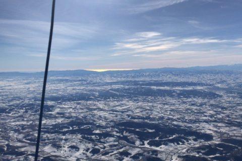 Ballonvaart winter